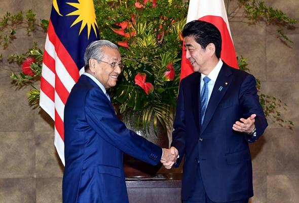 Jepun komited bantu laksanakan Dasar Pandang ke Timur