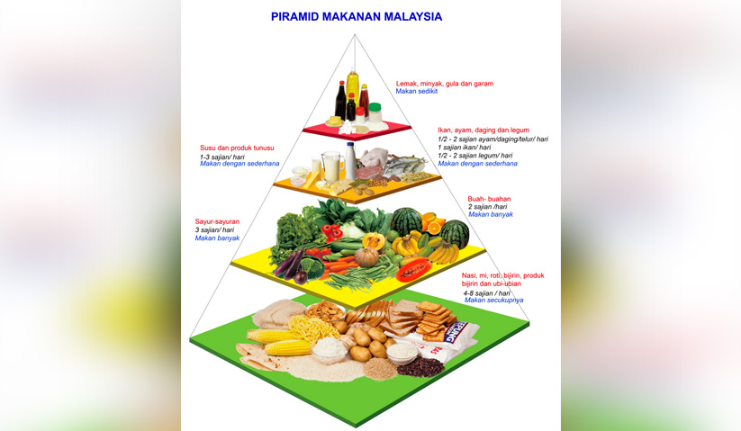 Mary menyeru agar peminat durian menikmati buah itu dalam kadar sederhana dan mengamalkan pemakanan sihat mengikut piramid makanan yang disarankan. Foto: myhealth.gov.my