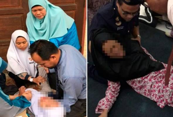 Histeria menyerang SMK Ketereh, puluhan pelajar jadi mangsa