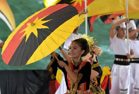 Hari Sarawak, Hari Malaysia, Hari Kebangsaan