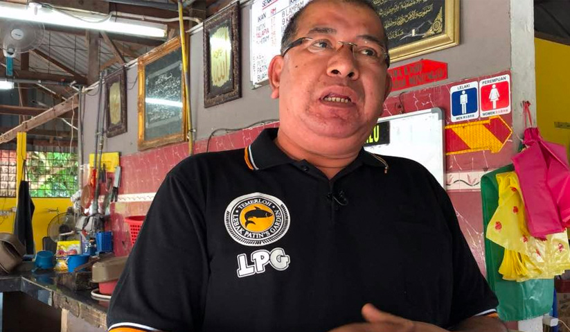 Pengusaha ikan patin, Wan Mohd Sofian Wan Husain.