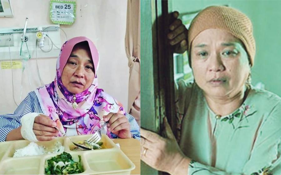 Ada jangkitan paru-paru, Wan Maimunah dimasukkan ke Hospital Alor Gajah