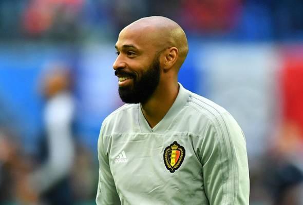 Thierry Henry tolak tawaran Bordeaux