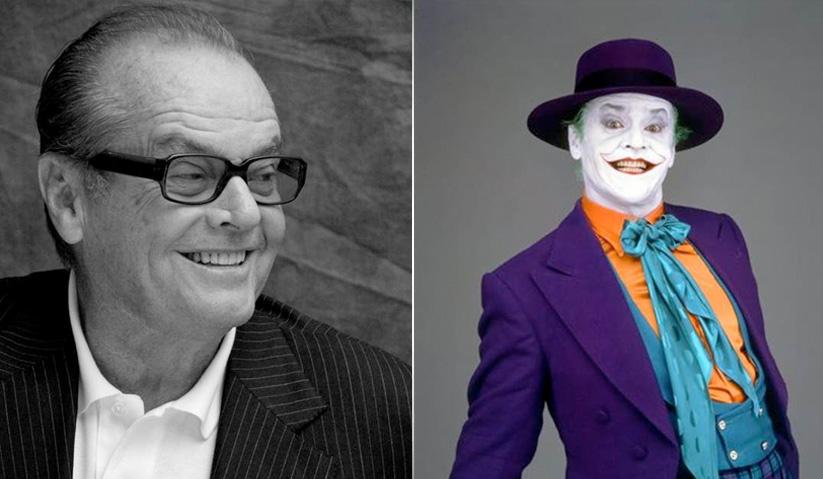 Pelakon lagenda Hollywood, Jack Nicholson, antara pelakon yang terkenal melakonkan watak Joker.