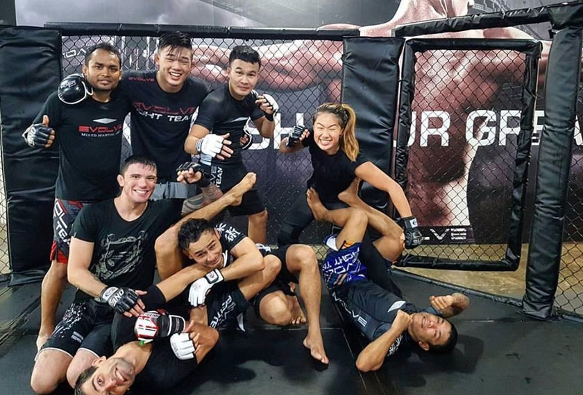 EVOLVE MMA has the largest collection of World Champions in the world. - Facebook pic/Angela Lee