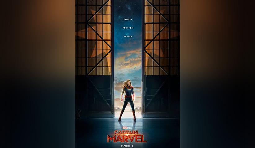 Poster filem 'Captain Marvel'. - Twitter @CaptainMarvel