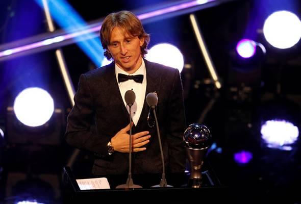 Luka Modric muncul Pemain Terbaik FIFA 2018