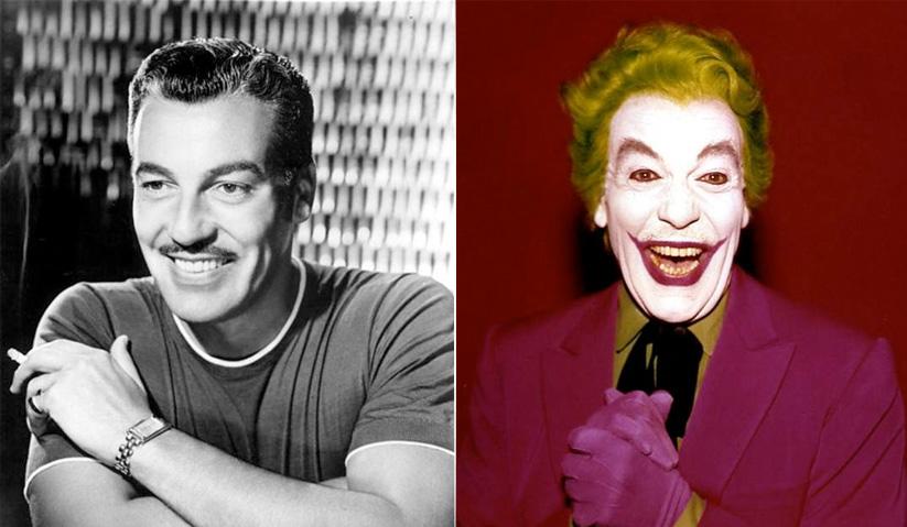 Cesar Romero, pelakon pertama yang melakonkan watak Joker.