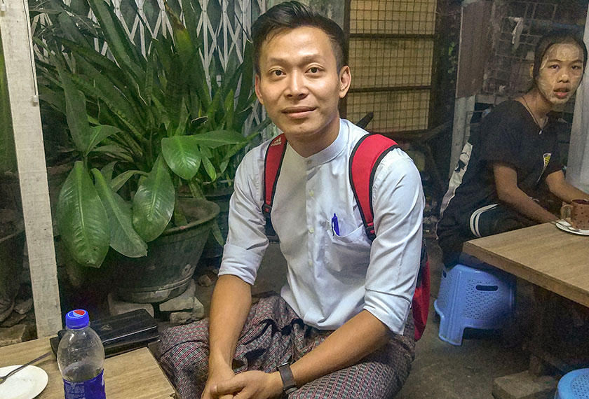 Myo Zaw Khant has a shy smile and a reserved, self-disciplined manner. A bank assistant, he is a native of Mawlamyine, a faded port and former British stronghold some 300km to the southeast of the capital. Mai Duong/Ceritalah