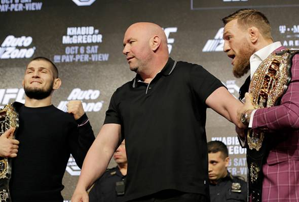 Tempah 'rematch' saya untuk Moscow, kata Conor McGregor