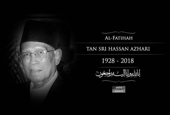 Hassan Azhari sudah tiada