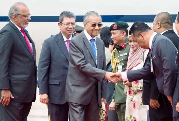 PM terima sambutan hormat kerajaan Thai