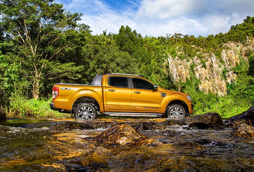 Rangkaian Ranger baharu dikuasakan oleh tiga enjin diesel iaitu 2.0L Bi-Turbo, 2.0L Turbo-Tunggal, dan 2.2L Duratorq. - Foto Ford