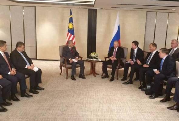 Kuala Lumpur-Moscow perkukuh hubungan