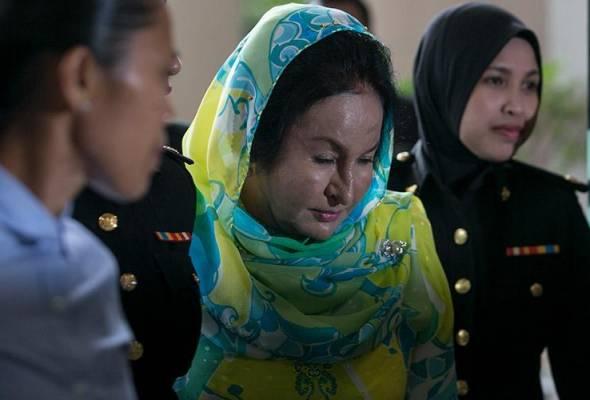 Projek hibrid solar: Rosmah mengaku tidak bersalah terima rasuah RM1.5 juta