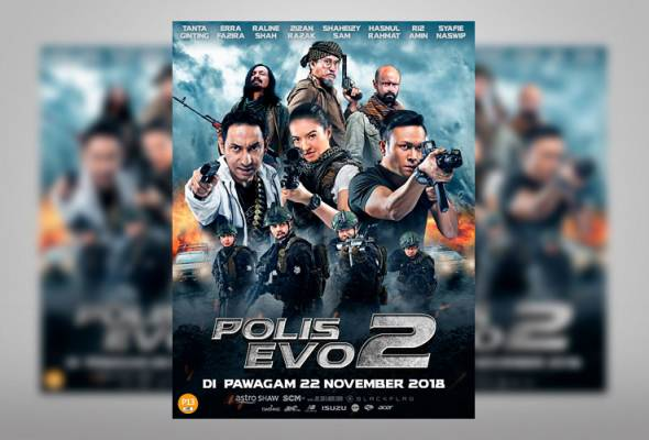 'Polis Evo 2' cetus fenomena, kutip RM3.5 juta tayangan pembukaan