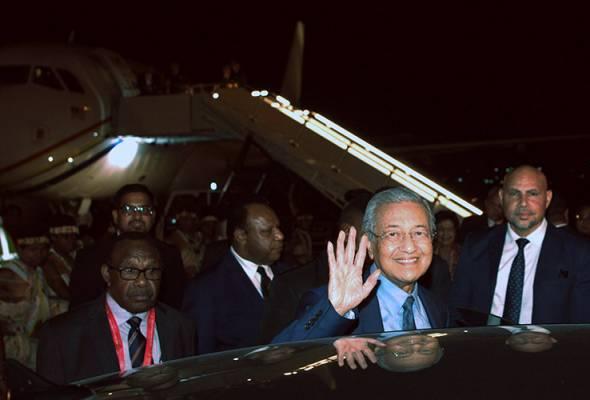 APEC 2018: Perdana Menteri tiba di Papua New Guinea