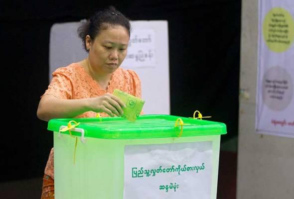Pilihan raya kecil Parlimen Myanmar bermula