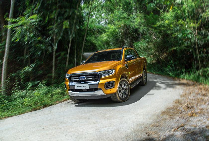 Rangkaian tersebut membabitkan sembilan varian yang terdiri daripada varian XL, XLT, XLT+, Wildtrak dan Raptor. - Foto Ford