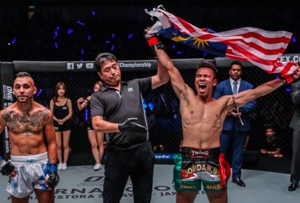 Jordan Boy menang pertarungan sulung di ONE Championship