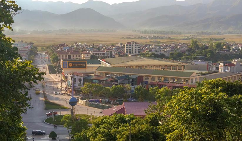 Dien Bien Phu is a nondescript provincial town surrounded by rice paddies, some 456 kilometres to the northwest of the capital, Hanoi. Mai Duong for Ceritalah
