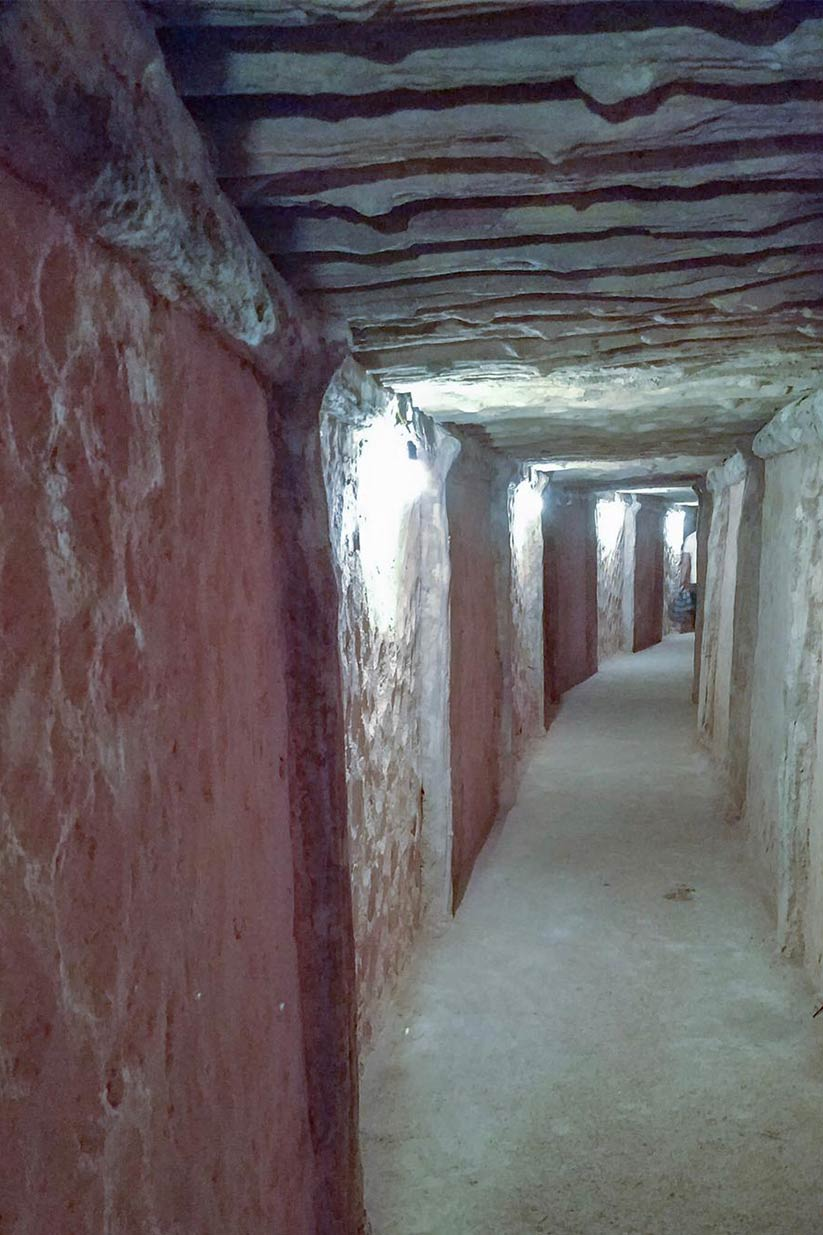 An underground tunnel, which General Vo Nguyen Giap used as a hideout from French forces during the Viet Minh's siege on Dien Bien Phu. Mai Duong for Ceritalah