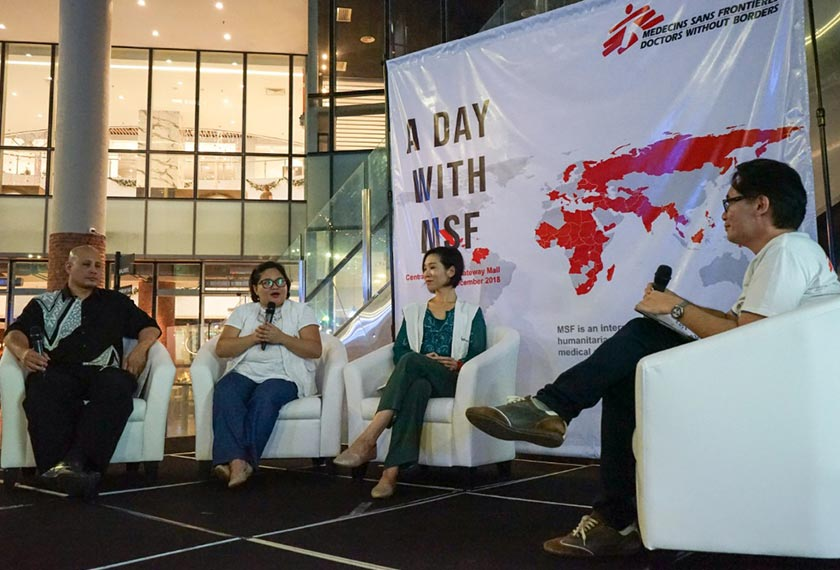 'A Day With MSF'