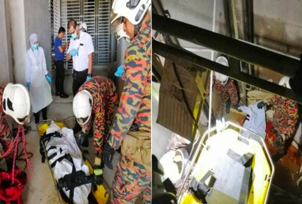 Lelaki warga Bangladesh maut, jatuh lubang lif