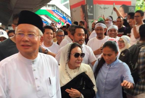 Himpunan 812: Najib, Rosmah pilih LRT ke Jalan Raja