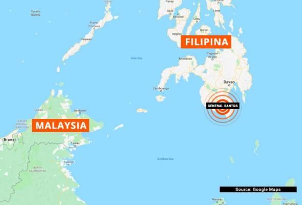 Gempa bumi berkekuatan 6.9 magnitud landa selatan Filipina