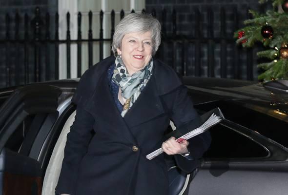 PM Britain selamat usul undi tidak percaya