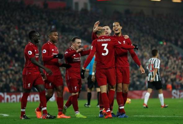 Liverpool lebar penguasaan di puncak liga