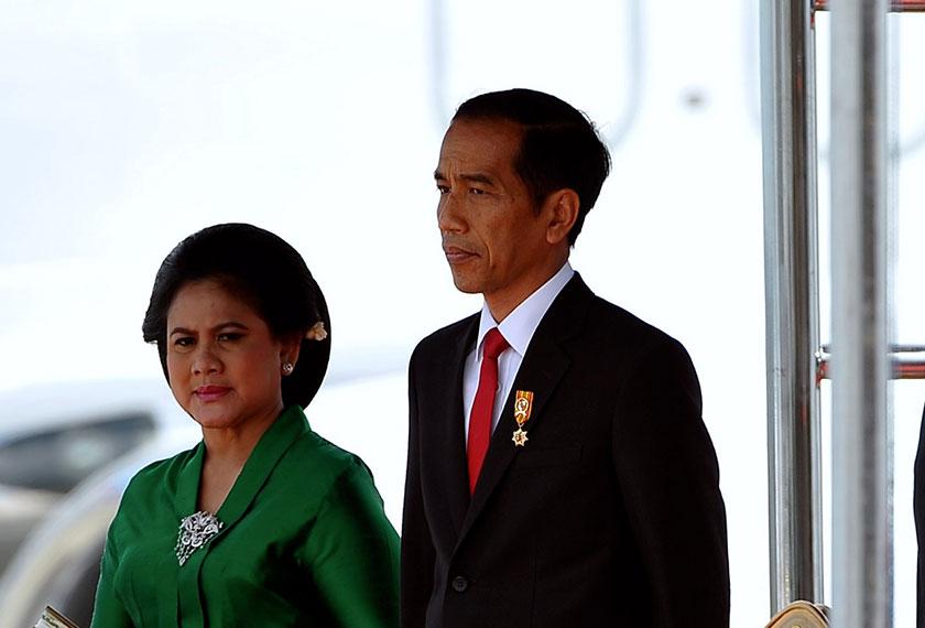 Jokowi dan Iriana tidak pernah meraikan ulang tahun kelahiran atau perkahwinan sepanjang 32 tahun berkahwin. - Bernama