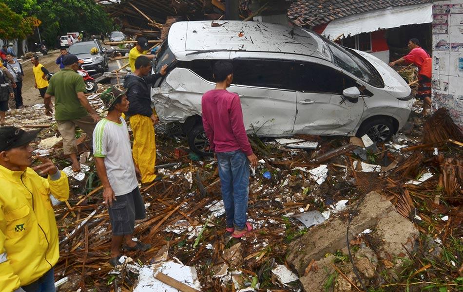 Tsunami, Indonesia, Maut