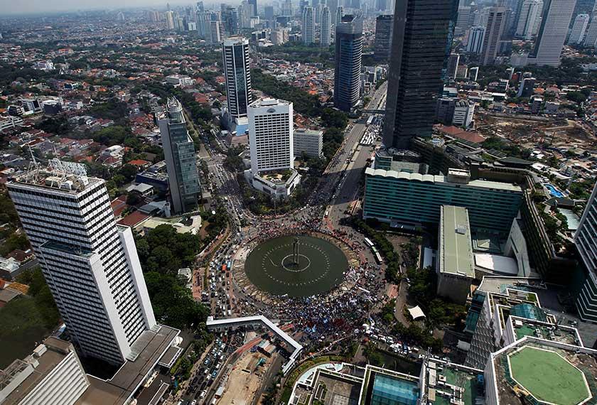 Indonesia antara negara jiran yang mengamalkan pilihan raya kerajaan tempatan.