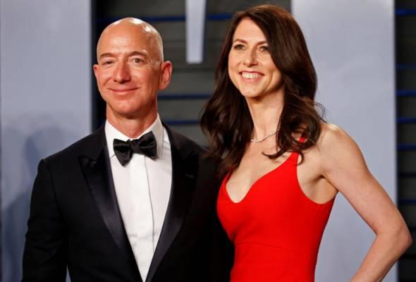 Pengasas Amazon.com, Jeff Bezos umum perceraian