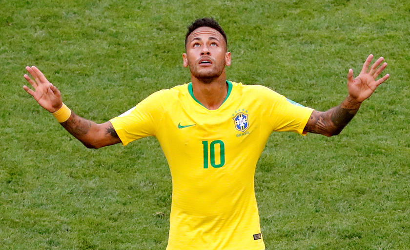 Neymar Jr., anak emas Brazil.  - Gambar REUTERS