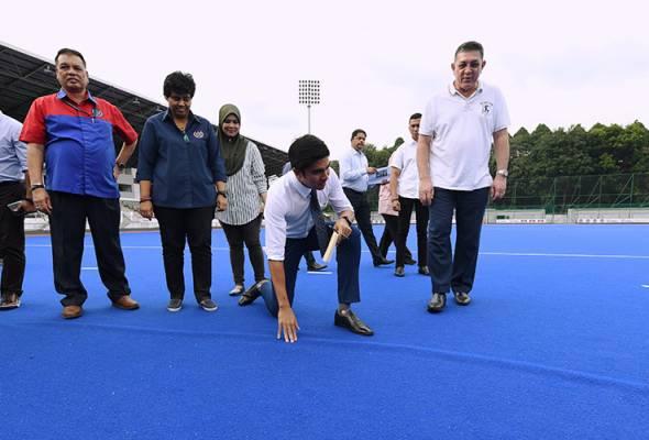 Kerja pembaikan Stadium Hoki Nasional bermula bulan depan