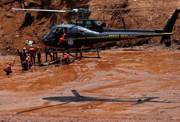 Angka kematian empangan runtuh di Brazil meningkat kepada 115