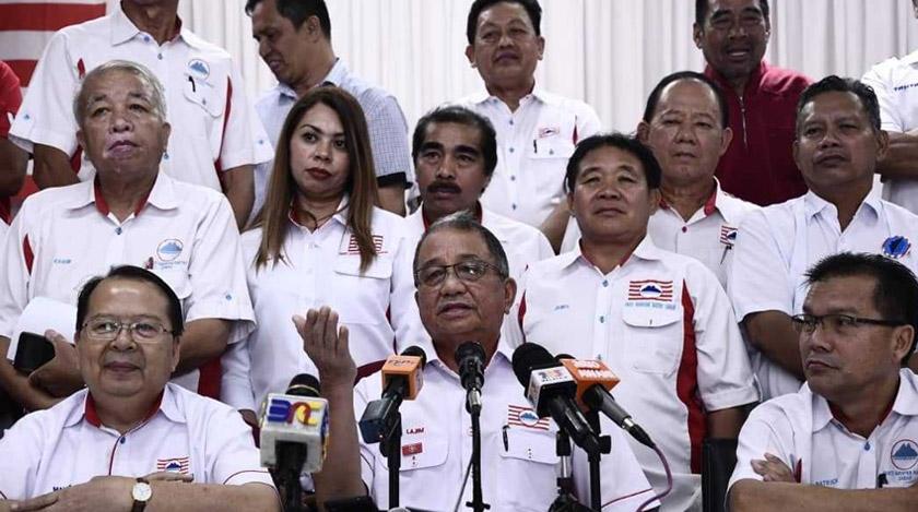 Sidang media khas Parti Harapan Rakyat Sabah di pejabat mereka, di Kota Kinabalu. - Foto Astro AWANI
