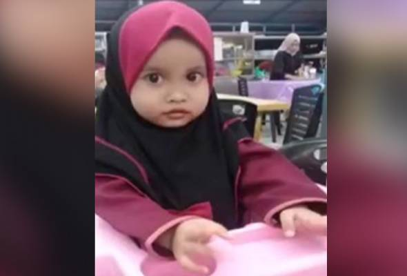 Gigi dan titisan darah sah milik adik Nur Aisyah Aleya