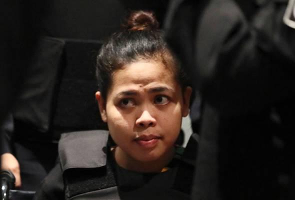 Pembunuhan Kim Jong-Nam: Siti Aisyah dilepas tanpa bebas