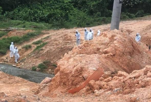 Pencemaran bahan kimia: Bacaan bahan kimia di Sungai Kim Kim