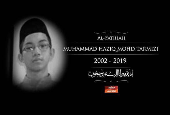 Tragedi solat Jumaat Christchurch: Muhammad  Haziq selamat dikebumikan