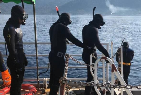 Pasukan penyelam penyelamat Maritim Malaysia dilatih 'Umizaru'