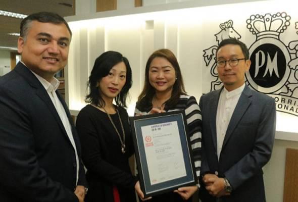 Philip Morris Malaysia memperoleh pengiktirafan EQUAL-SALARY
