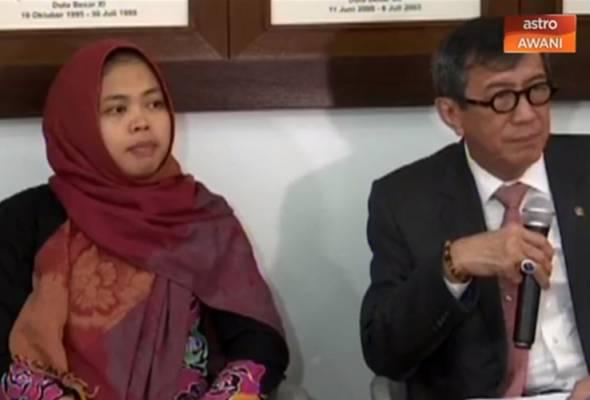 'Siti Aisyah bebas hasil rundingan Indonesia-Malaysia' - Menteri