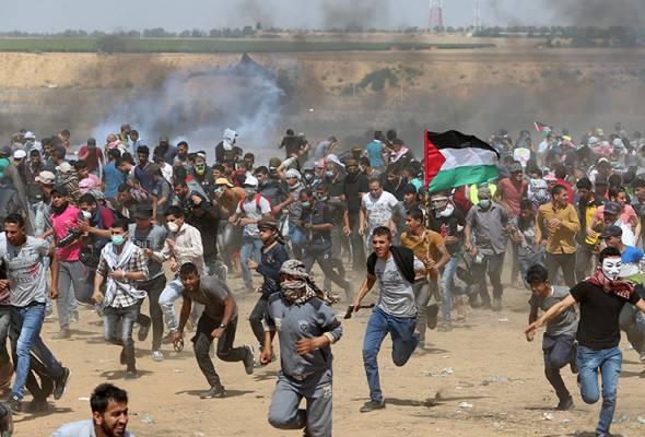 Aman Palestin kumpul sumbangan bantu warga Palestin lalui Ramadan