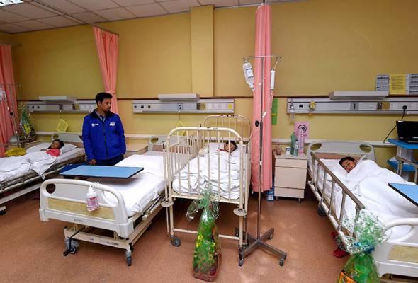 Bencana Kim Kim: Tiga beradik di Terengganu alami simptom demam, muntah