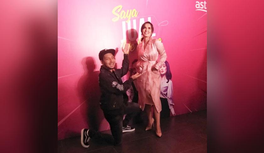 Zizan dan Uqasha bergandingan bersama untuk tele filem Saya Jual Ye Bang!